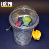 Copos plásticos descartáveis para bebidas frias