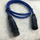 Enchufe XLR, cable conector XLR macho a conector hembra XLR