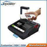 인쇄 기계와 Qr 부호 지불을%s 가진 1개의 접촉 스크린 인조 인간 판매 촉진형 POS Terminale에서 모두