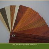 木製の穀物PVC泡のボードの木製の模造ワードローブのボード