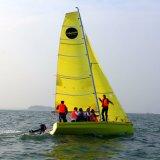 шлюпка Sailing желтого цвета сертификата 6.5m CCS для пользы тренировки
