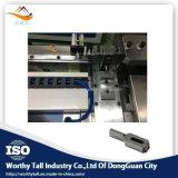 CNCの鋼鉄規則のための完全な自動ベンダー機械は作ることを停止する