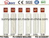 Moulages ordinaires décoratifs environnementaux en gros de polyuréthane de panneau d'unité centrale