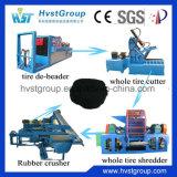 Gomma residua che ricicla riga/gomma residua che ricicla la macchina di gomma della polvere