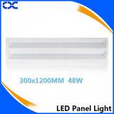 Teto liso que ilumina o painel do diodo emissor de luz de 300X1200mm China