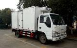 Isuzu 4*2 Refrigerator Van Truck, camion del frigorifero 6ton