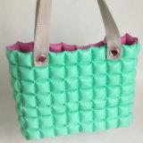 Groen het Winkelen van de Bel van pvc van de Kleur Opblaasbaar Zak of Hoofdkussen