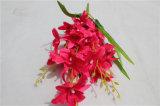 Flor artificial decorativa de la orquídea de la alta calidad para la venta al por mayor