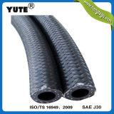 """Yute適用範囲が広い5/16の"""" AEMのゴム製ファイバーの編みこみの燃料経路ホース"""