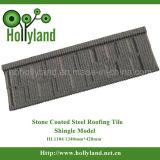 Calidad garantizada Teja metálica recubierta de piedra (plaqueta tipo)
