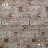 Papel decorativo de decoração quente para materiais de decoração, papel base de padrão colorido
