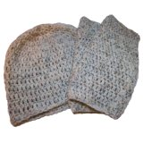 싼 공백 뜨개질을 하는 모자, 장갑 및 스카프 (JRK127)