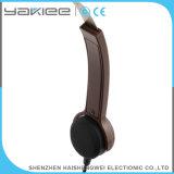 Écouteur d'appareil auditif de conduction osseuse de câble par ABS de Brown