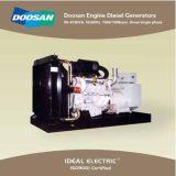 Diesel die Generator door Doosan Engines Hoge Prestaties wordt aangedreven