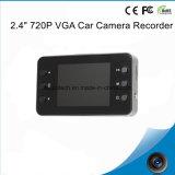 """120度の視野角、ダッシュの駐車カメラDVR-2440の1.0mega CMOSの熱い販売のギフト車DVR 2.4 """" 720p VGAのカメラのデジタルビデオレコーダー"""