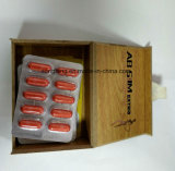 Pillules minces de capsule mince supplémentaire rouge de fines herbes normale de l'extrait ab de 100%
