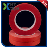 cinta adhesiva da alta temperatura del color rojo de 0.2m m para la pintura