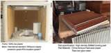 Pista del refrigerador de aire de la pista de la refrigeración por evaporación del agua del peine de 5090 mieles