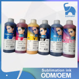 La alta calidad de Corea rápida seca la tinta de la sublimación del trazador de gráficos del tinte
