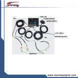 jogos principais da câmara de ar do estroboscópio do Hideaway 4 de advertência da polícia 80W (LTE437)
