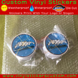 Etiqueta engomada de encargo cortada con tintas del vinilo de la protección de Sticker&UV de la insignia