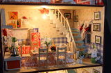 Vente en gros de jouets Beaux enfants bricolage Cute Room Mini Doll House