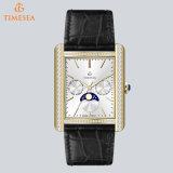 De nieuwste Mensen Van uitstekende kwaliteit van de Luxe letten op Vierkant Horloge met Zwitserse Movement72537