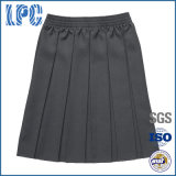 Classic School Uniform Girls Pleat Skirt with Elastic