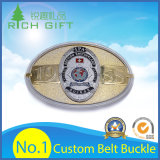Atacado Custom Made Fashion Seat Zinc Alloy / Brass / Western Metal Belt Buckle for Leather Belt