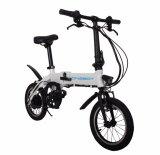 Зеленый скутер экологически безопасные складной электрический Ebike 250W