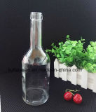 400ml de transparante Loodvrije Fles van het Glas van de Alcoholische drank