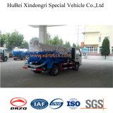 het Model van Dongfeng van de Vrachtwagen van de Tanker van de Riolering van de Zuiging van 4cbm
