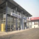 Struttura d'acciaio di montaggio prefabbricato chiaro per il workshop ed il magazzino