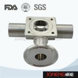 Valvola a diaframma pneumatica della parte inferiore del serbatoio dell'acciaio inossidabile (JN-DV2004)