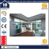 Vidraça dupla baixa vidraças e portas de correr horizontal
