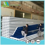 El panel de emparedado acanalado del color de acero ligero EPS de la alta calidad para el taller