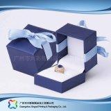 호화스러운 나무로 되는 마분지 시계 보석 선물 전시 포장 상자 (xc-hbj-035)