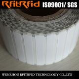 De milieuvriendelijke Markering van de Sticker van het anti-Metaal RFID van Inkjet Geschikt om gedrukt te worden voor Inventaris