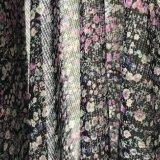 75D*100d ha stampato chiffon di seta imitato per gli indumenti delle donne