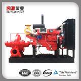 Xbcの鋳鉄のディーゼル機関の主導の消火活動の水ポンプ