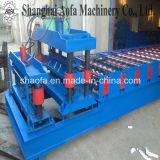 Rodillo de azulejos esmaltado antiguo que forma la máquina / máquina anterior del rodillo de azotea