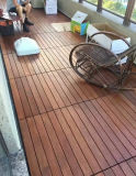 Im Freien Merbau festes Holz-Bodenbelag mit Cer-Bescheinigung