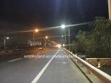 Luz de Rua Solar IP68 9m 90W para iluminação de estrada com 3 anos de garantia Marcação&RoHS&FCC listados