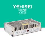 D-120A 120W verdoppeln die Ausgabe 5V 12A 12V 5A variable Gleichstrom-Versorgung schalten