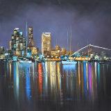 Peinture à l'huile acrylique de reproduction pour des constructions