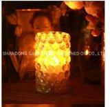 Candela domestica in tazza, candela della decorazione LED di colore del LED