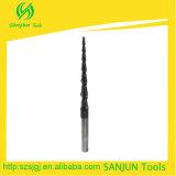 Moinho de extremidade afilado carboneto/moinho de extremidade do nariz da esfera/cortador afilados de Endmill para a madeira