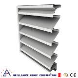 Obturador fixo de alumínio e indicador fixo da grelha