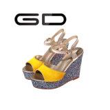 Клин сандалий планки лодыжки способа Gdshoe
