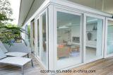 最もよい品質の工場価格のアルミニウム単一のスライドガラスドア